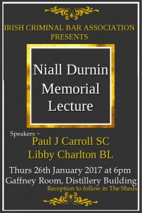 Niall Durnin Lecture